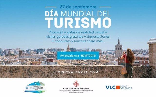 Cartel del Día Mundial del Turismo