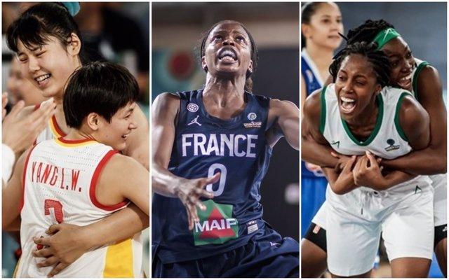 China, Francia y Nigeria se clasifican en el Mundial de Tenerife