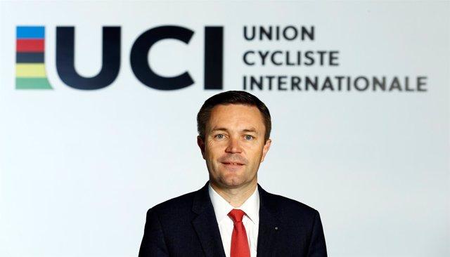 David Lappartient, Presidente De La Unión Ciclista Internacional (UCI)