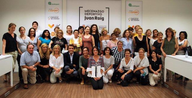 Participantes en el estudio clínico