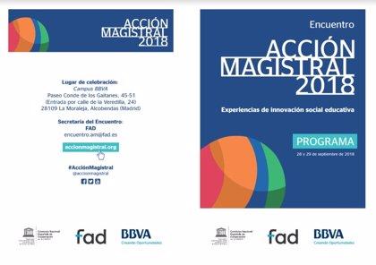 Más de 200 docentes apuestan desde mañana por la creatividad y la innovación en el Encuentro Acción Magistral de Madrid