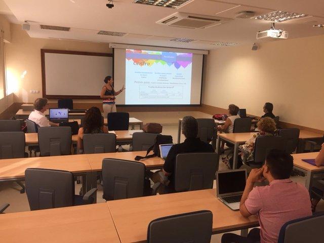Un momento del Encuentro celebrado en Loyola Andalucía