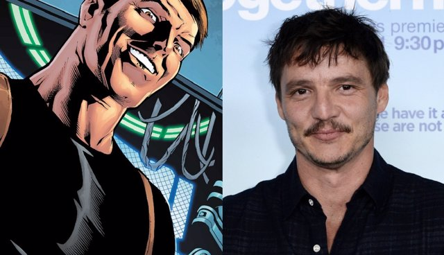 Maxwell Lord y Pedro Pascal