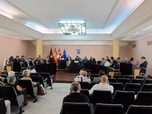 Pleno de la Diputación de Segovia.