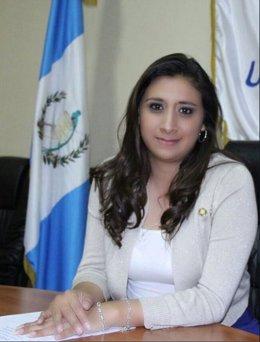 Eva Monte Bac, diputada por el partido Alianza Ciudadana