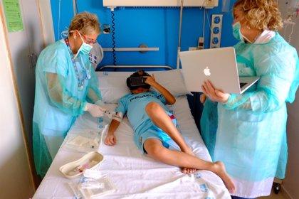 Realidad virtual para distraer y educar a los niños en el proceso de trasplante hepático