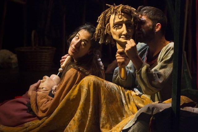 La compañía Bambalina actúa esta semana en Teatro Arbolé
