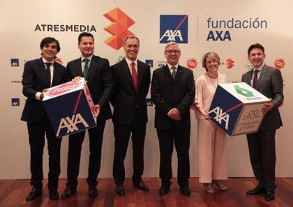 Atresmedia y Fundación AXA amplían hasta 2023 su compromiso de colaboración por la seguridad vial y la salud