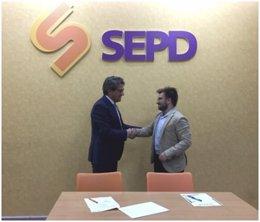 Convenio entre la SEPD y el CEEM