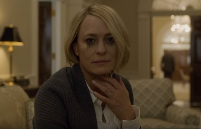 Robin Wright en House of Cards