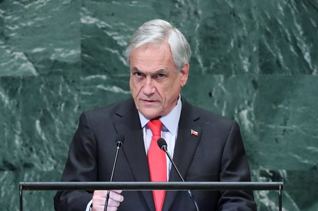 El presidente de Chile, Sebastian Piñera, en la Asamblea General de la ONU