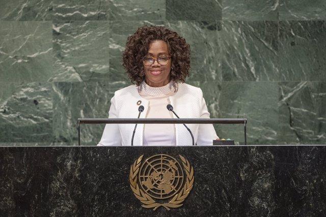 La vicepresidenta y ministra de Exteriores de Costa Rica, Epsy Campbell Barr.
