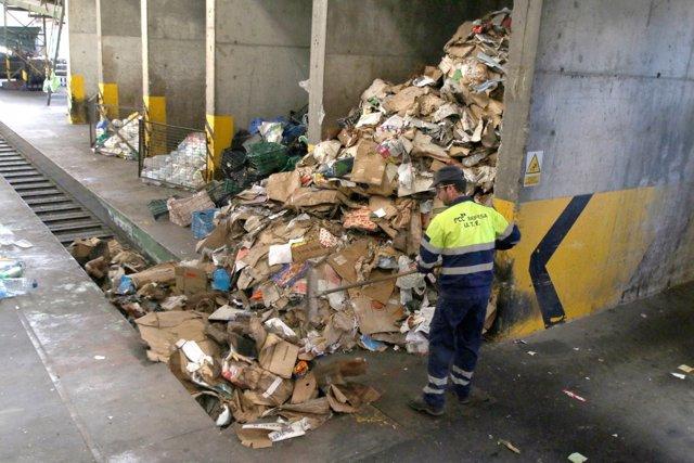 Vertedero de residuos de Gádor (Almería)