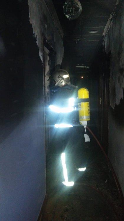 Dos menores migrantes no acompañados afectados en un incendio en un centro de Bornos (Cádiz)
