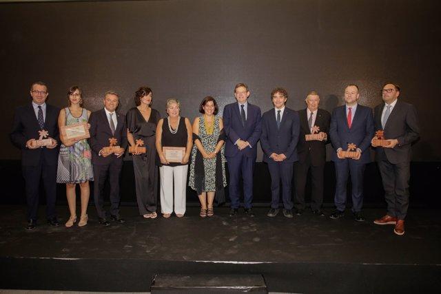 Entrega de los premios Turisme CV