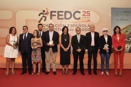 """La FEDC celebra sus 25 años recalcando la importancia del deporte """"para la integración y la autonomía"""""""