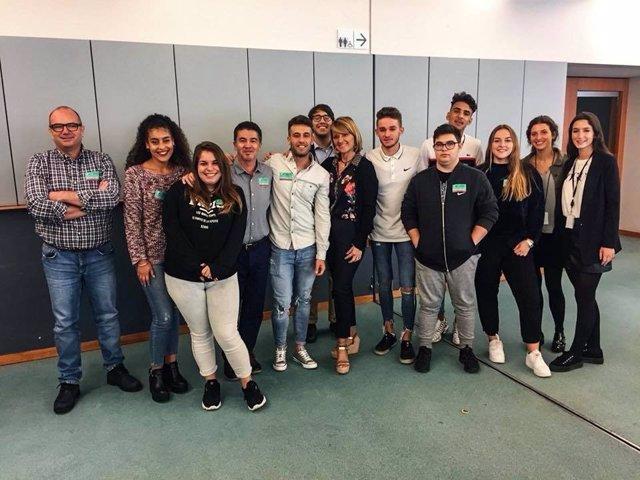 Visita Fundación Nazaret al Parlamento Europeo