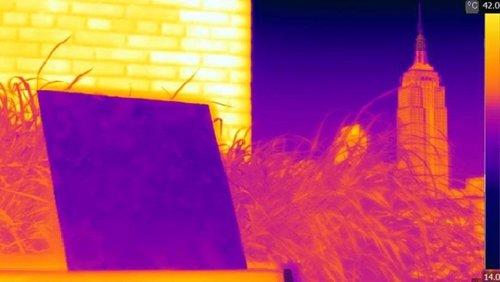 Efecto térmico del nuevo polímero