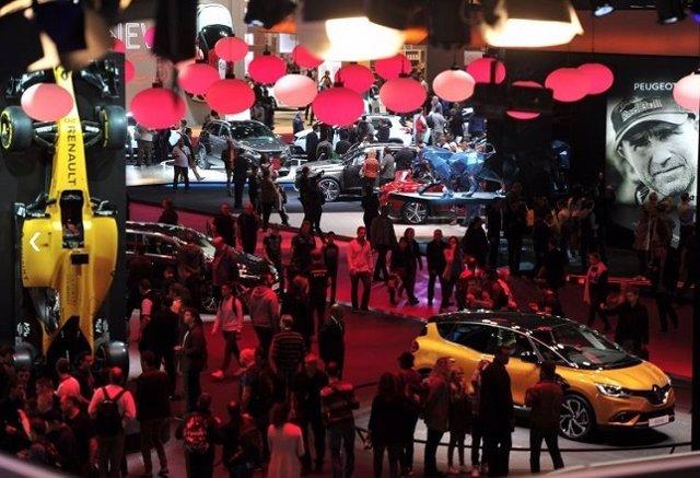 Salón Internacional del Automóvil de París 2016