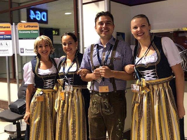 Lufthansa celebra el 'Oktoberfest'