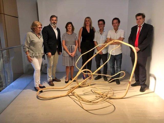 Imagen de la obra ganadora de 'Obra Abierta' de Fundación Caja de Extremadura