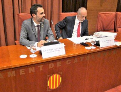 La CUP enmienda el pacto JxCat-ERC y rechaza que los diputados suspendidos deleguen