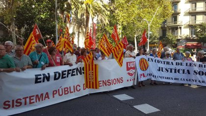 CC.OO. y UGT de Catalunya reclaman que el acuerdo en el Pacto de Toledo se traduzca en un decreto