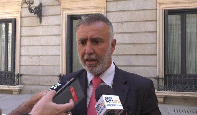 Secretario del PSOE en Canarias, Ángel Víctor Torres