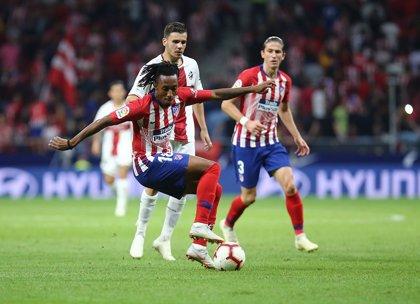 Gelson Martins podría perderse el derbi por una contusión en la rodilla