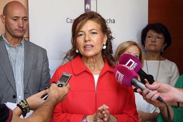 Consejera de Bienestar Social, Aurelia Sánchez