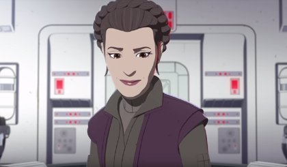VÍDEO: Primer vistazo a Leia Organa y la Capitana Phasma en Star Wars Resistance