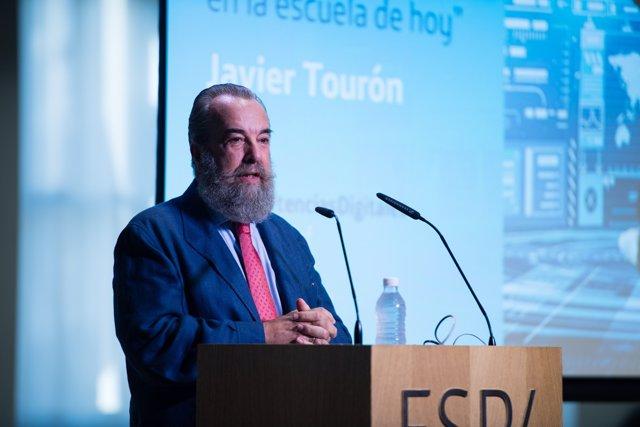 Vicerrector de Innovación de UNIR, Javier Tourón