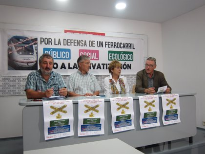 """La Plataforma de Defensa del Ferrocarril dice que la situación en Cantabria """"es mala"""" pero """"no de lo peor"""""""
