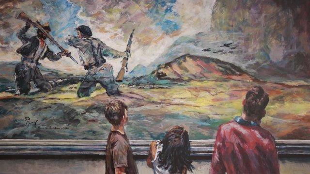 Primer premio del concurso de pintura de la 'Semana de Goya'.