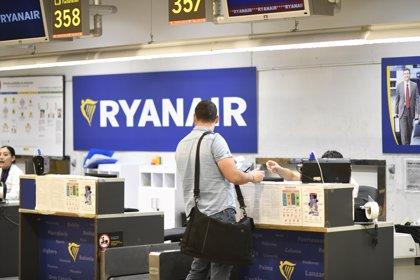 Ryanair eleva a 90 los vuelos cancelados en España por la huelga de tripulantes