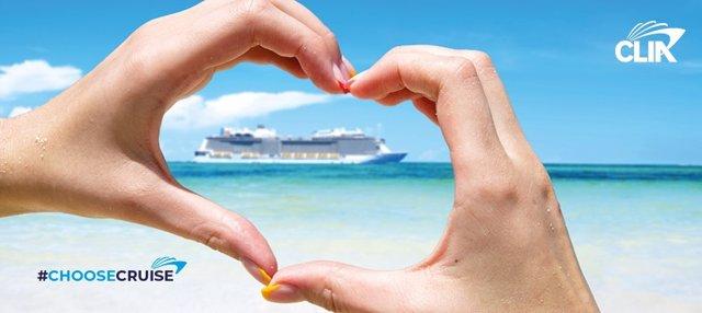 Campaña promocional de cruceros de CLIA