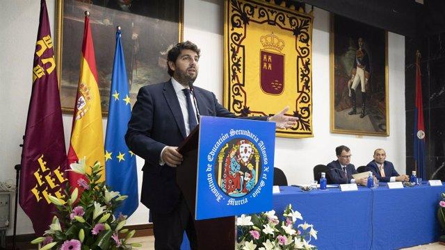 Presidente López Miras en apertura curso escolar
