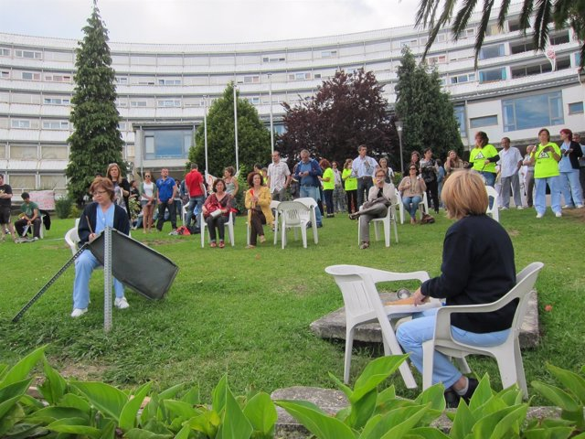 Protesta En La Pereda