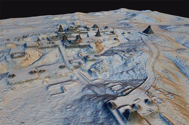 Complejos mayas revelados por la tecnología LIDAR
