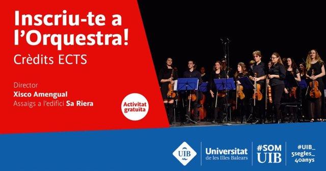 Cartel Orquesta UIB