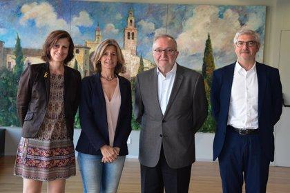 La alcaldesa de Sant Cugat y el de la Cámara de Terrassa reafirman su voluntad de cooperar