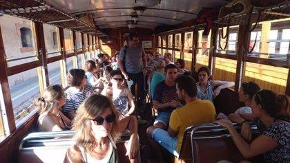 Trabajadores del Tren de Sóller se movilizan el sábado por un nuevo convenio colectivo con mejores condiciones