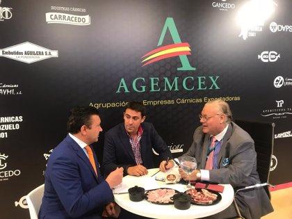 Casi 400 empresas han participado en el stand de Agemcex en la Feria del Sector Cárnico