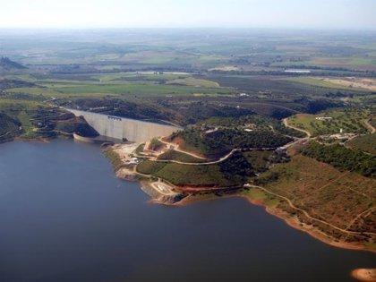 Los pantanos andaluces se encuentran al 54,59%, un 17,4% por encima de los niveles de 2017