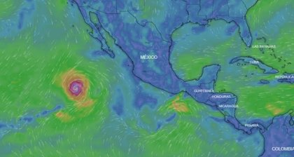 Alerta en el noroeste de México: el huracán 'Rosa' se eleva a categoría 4 y provocará importantes lluvias