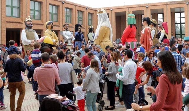 Actividad infantil en la Feria General de Zaragoza