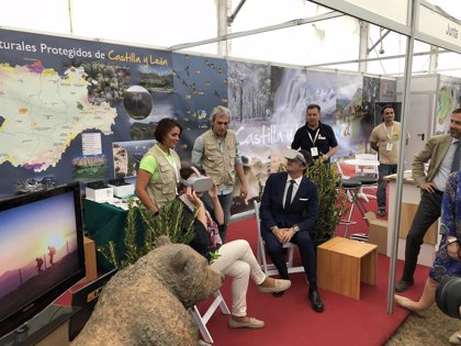 Naturcyl muestra la oferta turística de naturaleza de la Comunidad en Ruesga (Palencia)
