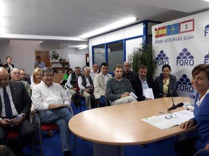 """""""No quiero que nos robe ni un gramo de energía"""", dice Moriyón sobre la posible vuelta de Cristina Coto al PP"""