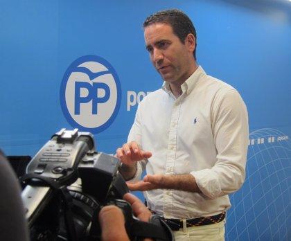 """García Egea cree que Ribó esta """"preocupado"""" por enfrentarse en las municipales con """"cualquier persona"""" con carnet del PP"""