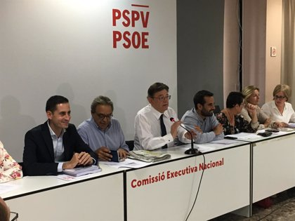 El PSPV celebrará primarias para las municipales en nueve municipios de más de 20.000 habitantes